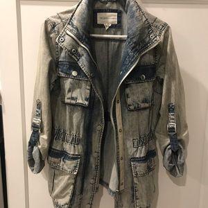 BCBG Jean jacket